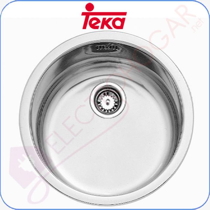 Imagen de Fregadero Teka ERC 1C, Acero INOX, mueble de 45cm.