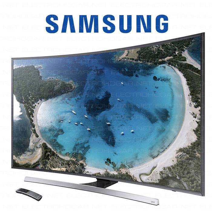 Imagen de Pantalla LED 3D de 48 Samsung UE48JU7500TXXC UHD curvo 1400Hz