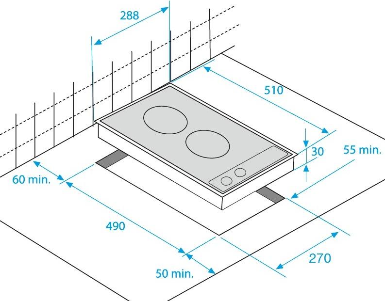 Placa encimera vitroceramicas hdmc 32400 tx - Placas vitroceramicas medidas especiales ...