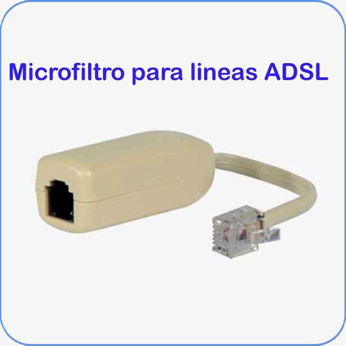 Imagen de Microfiltro para lineas ADSL