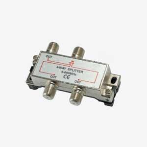 Imagen de Derivador / Repartidor blindado entrada y 3 salidas paso de corriente.