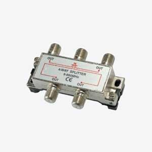 Imagen de Derivador / Repartidor blindado entrada y 4 salidas paso de corriente