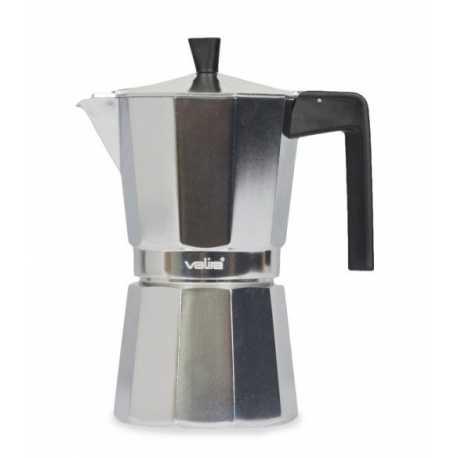 Cafetera Valira 3109 de 9 tazas en aluminio