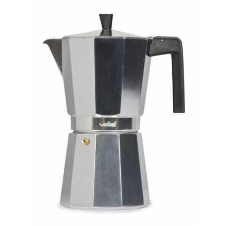 Cafetera Valira Vitro 3112 de 12 tazas en aluminio
