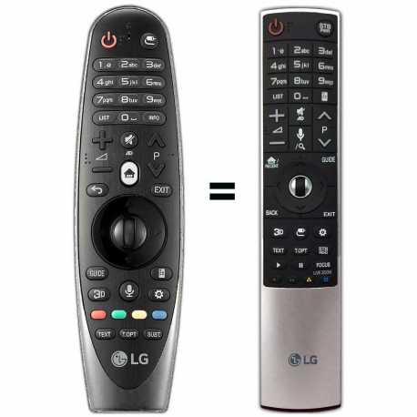 Mando a distancia SmartTV LG AN-MR600, LG AKB74495301 y LG AKB74515301