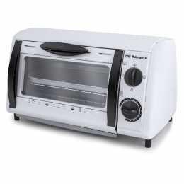 Mini horno Orbegozo HO800A de 8 litros y 800W de potencia color blanco