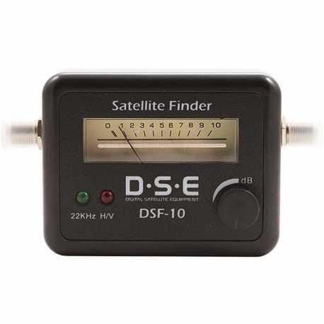 Localizador de satelite D.S.E. DSF-10 Sat Finder.