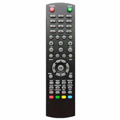 Mando a distancia para Nevir Nevir NVR-7419-48HD-N, NVR-7419-40HD-N, NVR-7425-40HD-N, NVR-7703-32RD2-N, NVR-7900-43-4K2-N, NVR-7