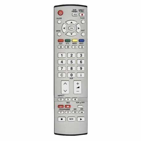 Mando a distancia Panasonic IDTV, EUR7651080, EUR765108A, EUR7651050A,