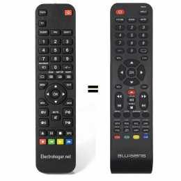 Mando a distancia sustituto para Blu:sens RC016 y RC015.