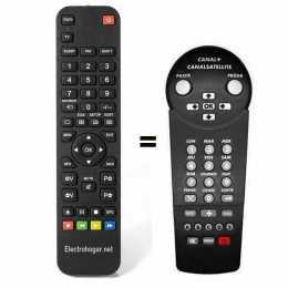 Mando a distancia Canal + / canal satélite digital