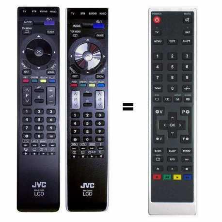 Mando a distancia sustituto del JVC RM-C2500 y JVC RM-C2501