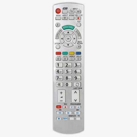 Mando a distancia Panasonic N2QAYB000506, N2QAYB000673, N2QAYB000672, N2QAYB000715, N2QAYB000752, N2QAYB000785.