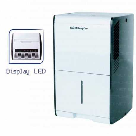 Deshumidificador Orbegozo DH-1037 Digital 10L 36db
