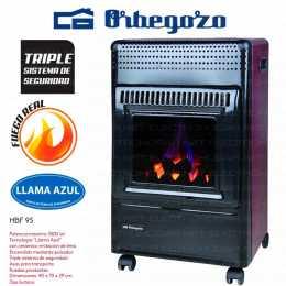 Estufa catalítica Orbegozo HBF-95 llama azul 3500W Butano