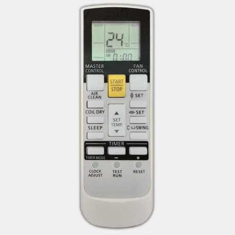 Mando a distancia de aire acondicionado Fujitsu / general AR-RY12, AR-RY14