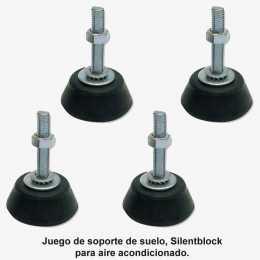 Juego de amortiguadores de suelo para aire acondicionado (silentblock)