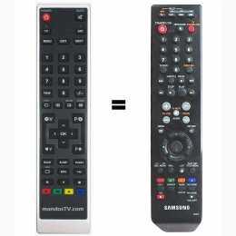 Mando a distancia sustituto del Samsung AK59-00084B 00084B