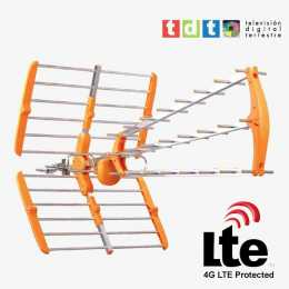 Antena de UHF para TDT con filtro LTE modelo SMT82LTE