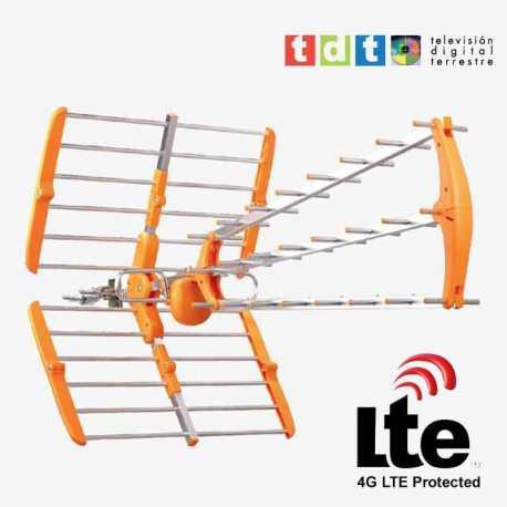 Antena de UHF para TDT con filtro LTE (4G) modelo SMT82LTE