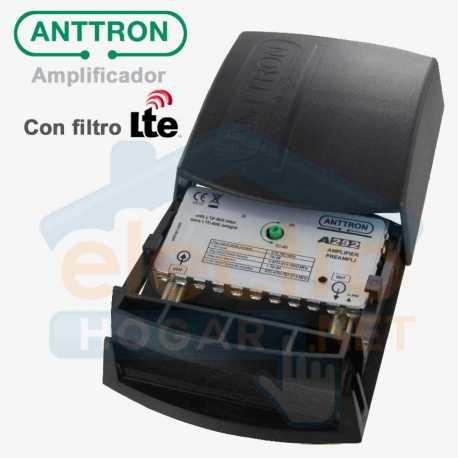 Amplificador de antena Anttron A292 con filtro LTE (38dB)