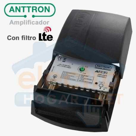 Amplificador de mástil para antenas Anttron A282 con filtro LTE 4G