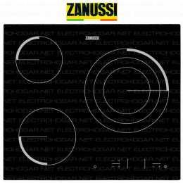 Encimera vitrocerámica digital ZANUSSI Z6123IOK 3 zonas