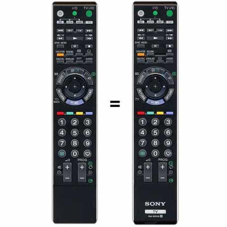 Mando a distancia Sony Bravia RM-ED012 y Sony RM-ED019