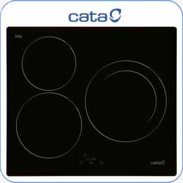 Encimera inducci n digital Cata IB603BK 3 zonas sistema booster touc