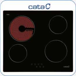 Encimera vitrocer mica digital Cata T604 4 zonas de cocci n touch con
