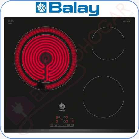 Encimera vitrocerámica digital Balay 3EB715LR