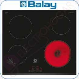 Encimera vitrocerámica digital Balay 3EB720LR marco delantero biselado