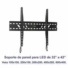 Soporte de pared fijo modelo SSP-310N para pantallas de 32 a 42