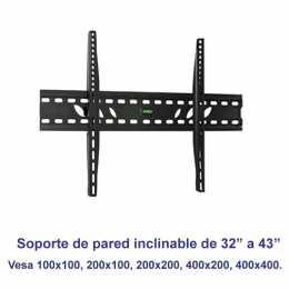 Soporte de pared inclinable SSP-326N para pantallas de 32 a 43