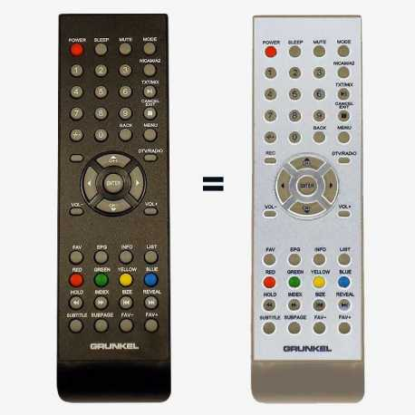 Mando a distancia original LCD / LED BO0003 para Grunkel, Saivod, Ansonic, etc