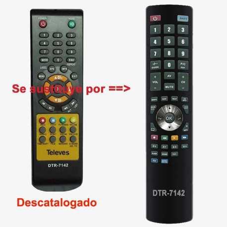Mando a distancia Televes DTR-7142, 7117/01