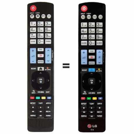 Mando a distancia LG AKB74455403 y LG AKB73756565
