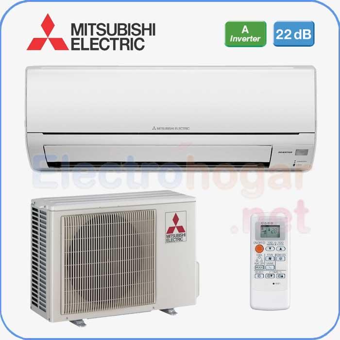 Aire acondicionado inverter mitsubishi electric msz hj25va for Aire acondicionado montaje incluido